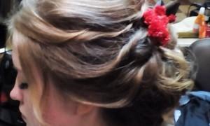 Святкові зачіски Лютої Олени
